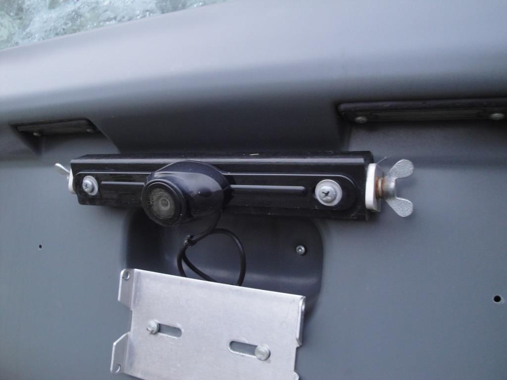 Monitor über Schalter, Kamera über Rückfahrlampe Ein/Aus
